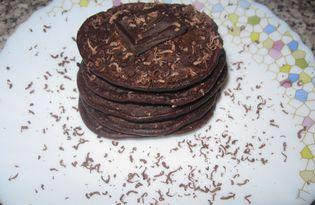 Оладьи шоколадные (пошаговый фото рецепт)