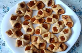 """Печенье с повидлом """"Минутка"""" (пошаговый фото рецепт)"""