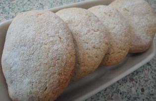 Песочное печенье с сухофруктами и миндалем (пошаговый фото рецепт)