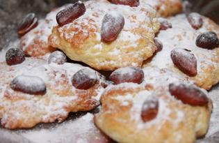 Песочное печенье с арахисом (пошаговый фото рецепт)