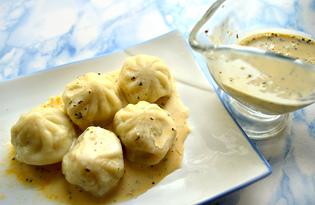 Пикантный соус для хинкали (пошаговый фото рецепт)