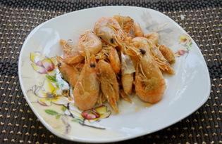Креветки жареные с майонезом (пошаговый фото рецепт)