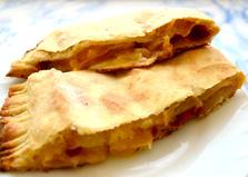 Слоеный пирог со сливами и мандаринами (пошаговый фото рецепт)