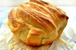 Домашний итальянский хлеб (пошаговый фото рецепт)