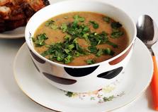 Суп-пюре овощной с грибами (пошаговый фото рецепт)