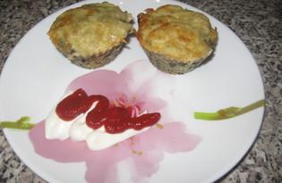 Маффины из картошки и грибов (пошаговый фото рецепт)