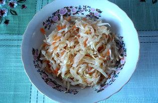 Квашеная капуста с морковью (пошаговый фото рецепт)