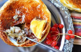 """Картошка с грибами под """"крышкой"""" (пошаговый фото рецепт)"""