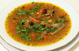 Суп-лобио из дичи по-грузински (пошаговый фото рецепт)