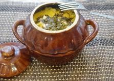 Пельмени в горшочках с грибами и сыром (пошаговый фото рецепт)