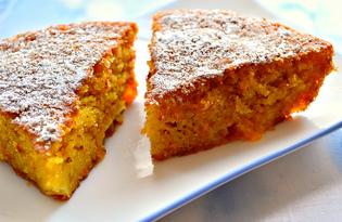 Кекс с мандарином и морковью (пошаговый фото рецепт)
