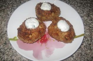 Котлеты из индейки с сыром и укропом (пошаговый фото рецепт)