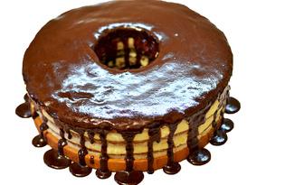 Шоколадная глазурь для торта (пошаговый фото рецепт)