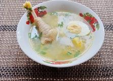 Суп на домашней курочке (пошаговый фото рецепт)