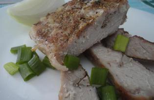 Свиное филе, запеченное со специями в фольге (пошаговый фото рецепт)