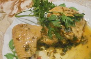 Окорочка в медово - горчичном маринаде (пошаговый фото рецепт)