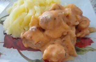 Рецепт подливы из свинины с пошаговым фото