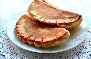 Пышные сладкие чебуреки (пошаговый фото рецепт)