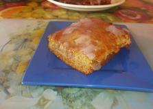 Бисквит с заварным кремом (пошаговый фото рецепт)