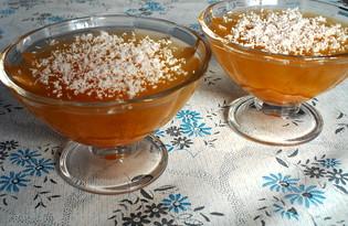 Желе из абрикосового варенья (пошаговый фото рецепт)