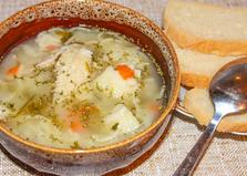 Суп с куриными крылышками в мультиварке (пошаговый фото рецепт)