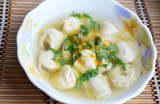 Дюшбара (суп с пельменями) (пошаговый фото рецепт)