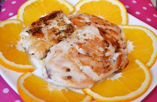 Куриные отбивные с апельсинами (пошаговый фото рецепт)