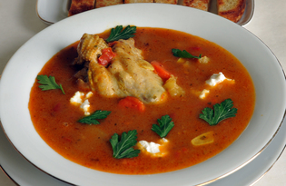 Суп индийский Малигатавни (пошаговый фото рецепт)