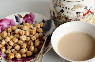 Соленые орешки из нута (пошаговый фото рецепт)