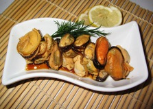 Маринованные мидии (пошаговый фото рецепт)
