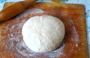 Сдобное тесто для пиццы (пирожков) (пошаговый фото рецепт)