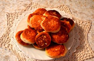 Сырники с орехами (пошаговый фото рецепт)