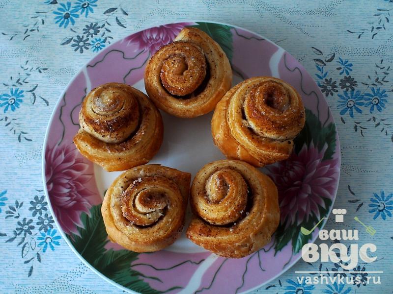 сладкие булочки с корицей рецепт с фото