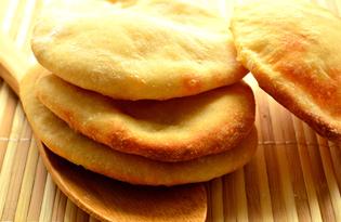 Турецкие лепешки (пошаговый фото рецепт)