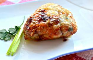 Фаршированная куриная голень (пошаговый фото рецепт)