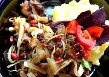 Говядина с барбарисом (пошаговый фото рецепт)
