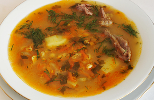 Шотландский перловый суп (пошаговый фото рецепт)