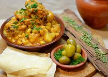 Жаркое с макаронами (пошаговый фото рецепт)
