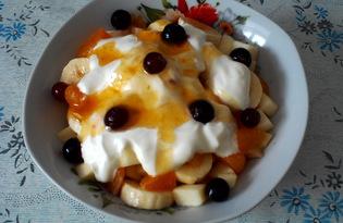 Фруктовый салат для детей (пошаговый фото рецепт)