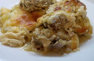 Рыба под соусом в духовке (пошаговый фото рецепт)