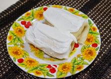 Блины на кефире с творогом (пошаговый фото рецепт)