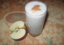 Смузи с кефиром, яблоком и корицей (пошаговый фото рецепт)