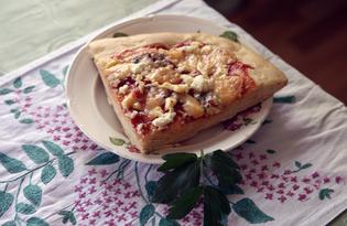 """Пицца """"Четыре сыра"""" (пошаговый фото рецепт)"""