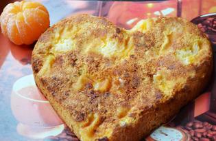 Шарлотка с мандаринами (пошаговый фото рецепт)