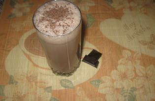Молочный коктейль с какао и мороженым (пошаговый фото рецепт)