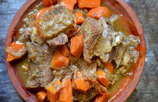 Говядина с тыквой (пошаговый фото рецепт)