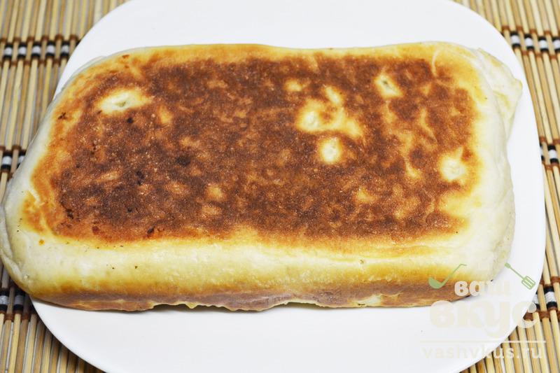 Рецепт хачапури с сыром с дрожжевого теста