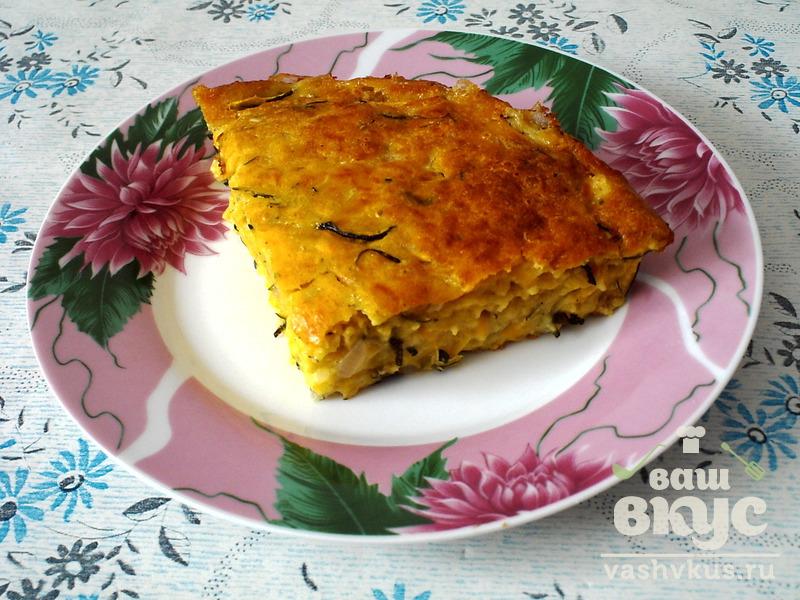 Рецепт запеканки из кабачков пошагово