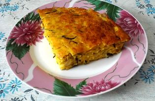 Запеканка из кабачков с сыром (пошаговый фото рецепт)