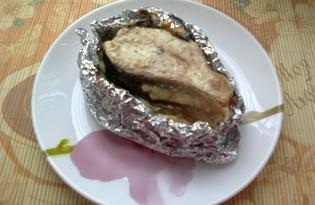Горбуша, запеченная с картофельным пюре (пошаговый фото рецепт)